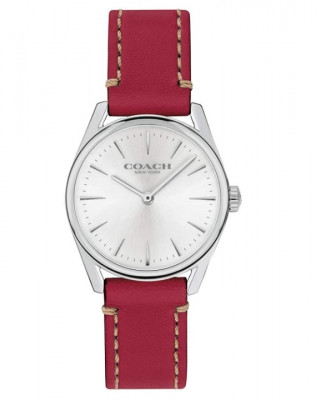 COACH WOMEN'S MODERN LUXURY WATCH (RED STRAP)