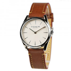 COACH MODERN LUXURY WOMEN'S WATCH WITH LEATHER STRAP