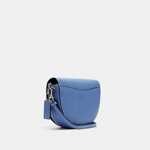 COACH ELLEN CROSSBODY (SILVER/STONE BLUE)
