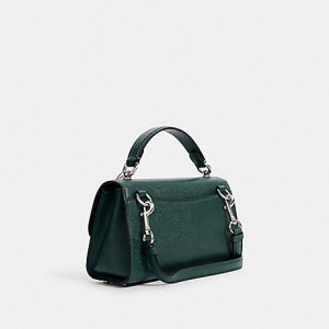COACH TILLY SATCHEL 23 (SILVER/DARK IVY)