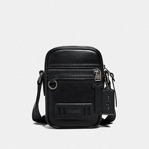 COACH TERRAIN CROSSBODY (QB/BLACK)