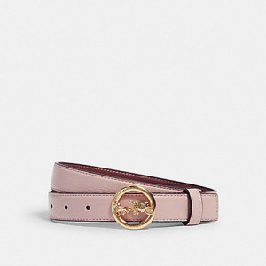 COACH HORSE AND CARRIAGE BELT (IM/BLOSSOM)