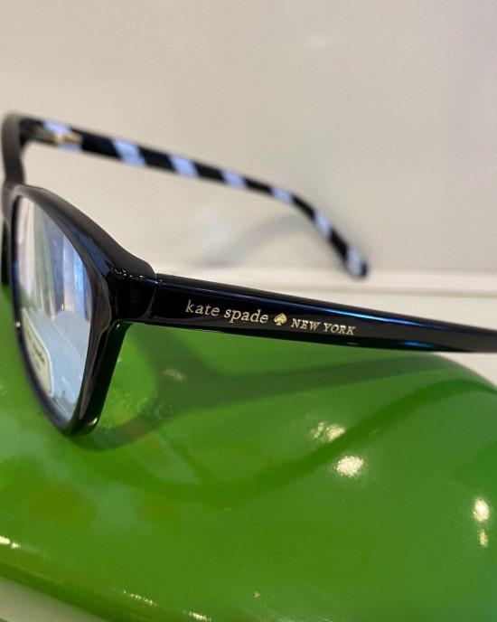 KATE SPADE PRESCRIPTION GLASSES PAVA/0 807 BLACK