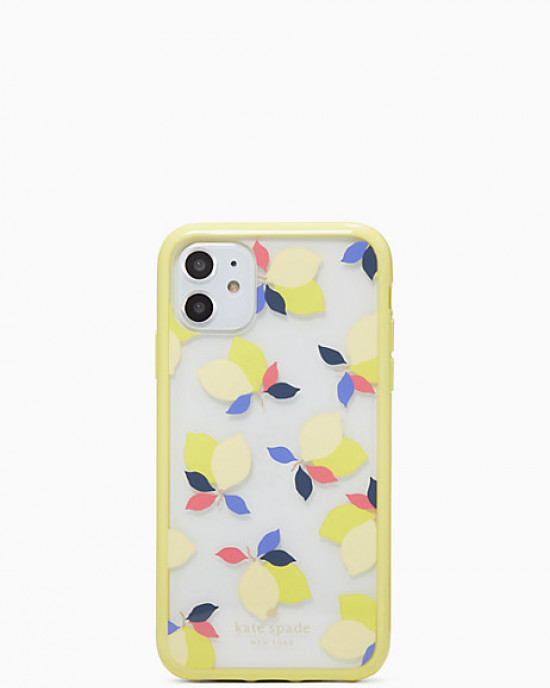 KATE SPADE IPHONE CASES LEMONS (CLEAR)