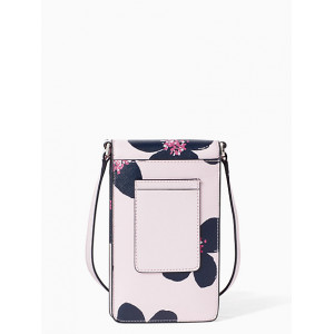 KATE SPADE CAMERON GRAND FLORA NORTH SOUTH PHONE CROSSBODY (SRNDPTPKML)