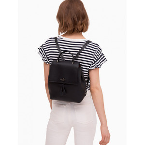 KATE SPADE HAYES MEDIUM BACKPACK (BLACK/WARM)