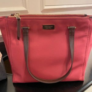 KATE SPADE DAWN MEDIUM SATCHEL (RHUBARBTRT)