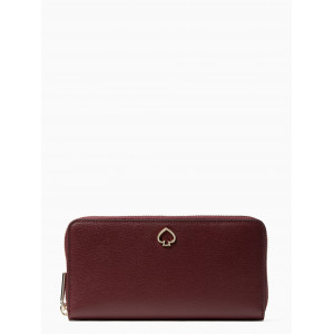 KATE SPADE ADEL LARGE CONTINENTAL WALLET (CHERRYWOOD)