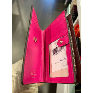 KATE SPADE MEDIUM BIFOLD WALLET ADEL (CHERRYWOOD)